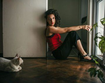 Leila Sucari reconoce que al principio de la cuarentena no podía leer ni escribir.
