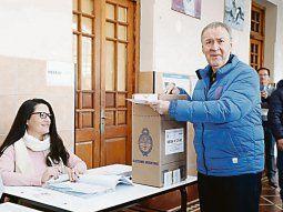 PROTAGONISMO. El gobernador Juan Schiaretti se mostró prescindente;
