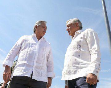 Alberto Fernández cerró su gira por México y pidió que nazca un nuevo plan para la América toda