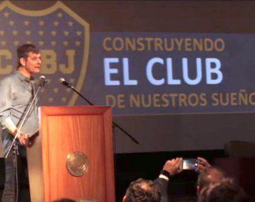 El vicepresidente de Boca Mario Pergolini dio detalles de lo que dirá la carta que el club le enviará a Conmebol.
