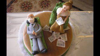 En el día del cumpleaños de Freud, un torta conmemorativa al psicoanálisis.