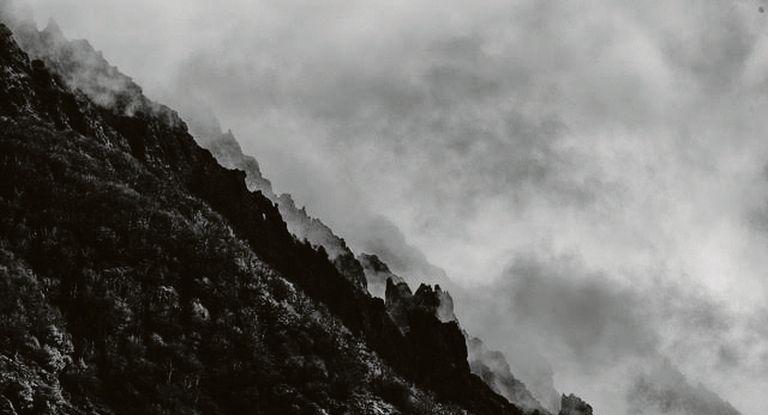Detalle. Las imágenes se imponen pero una observación más atenta invita a detenerse ante los grafismos que se descubren entre la nieve