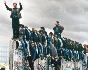 9 de noviembre de 1989, el día que cayó el Muro de Berlín y cambió el mundo.