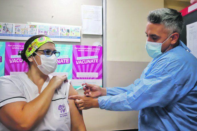 Escenario. Mientras prosigue el calendario de inmunización contra el covid-19 en la Provincia
