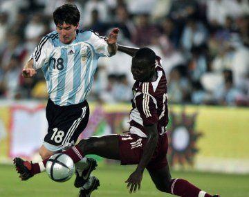 El antecedente con Qatar: una goleada y con un juvenil Messi en cancha