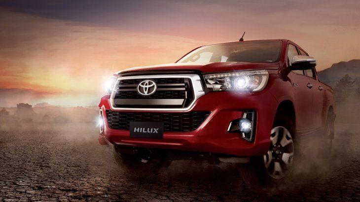La pick up Hilux fue el vehículo más vendido en Argentina en 2020.