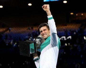 Djokovic igualó el récord de Federer de semanas como número 1 del mundo
