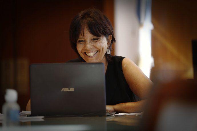"""La directora de la AFIP, Mercedes Marcó del Pont, ratificó que buscarán al 20% de los ricos que no pagaron el Aporte Extraordinario. """"Nuestra obligación es lograr que todos los contribuyentes alcanzados cumplan con sus obligaciones"""