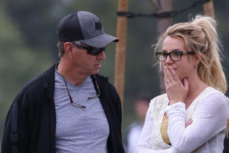 Jamie Spears y Britney Spears.