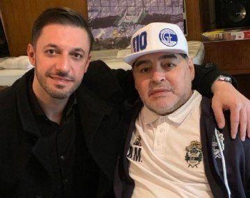 Morla entregó ante la Justicia los contratos de Maradona y de la firma que explota su imagen