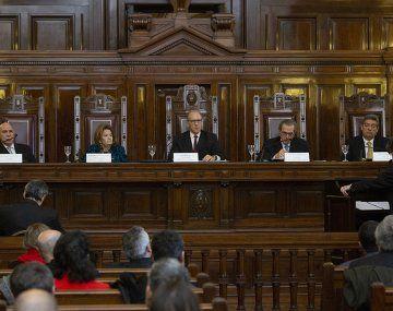 La Corte Suprema terminó de analizar conflicto por traslado de jueces