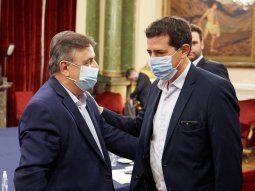 Mario Negri y Eduardo Wado de Pedro.