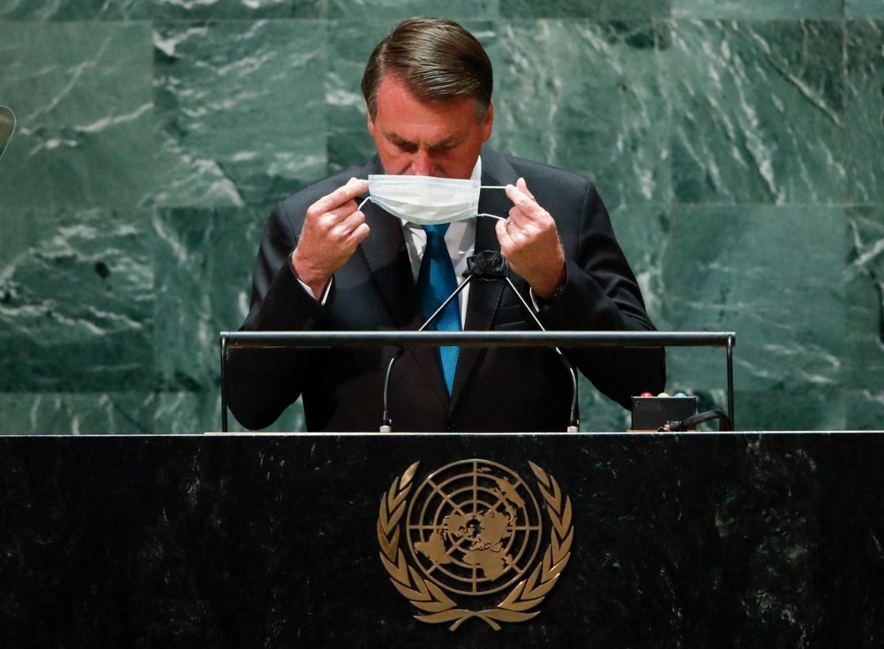 bolsonaro lleva la campana a la onu: brasil estaba al borde del socialismo