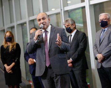 Manzur inauguró un edificio símbolo de ciencia y desarrollo con inversión de CAF.