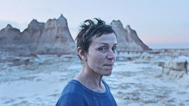 Nomadland. Frances McDormand
