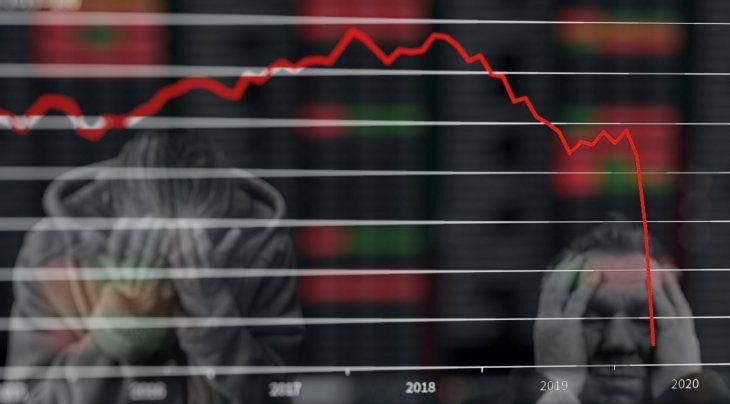 caida-crisis-coronavirus-covid-19-recesion-empleo-trabajo-pbi