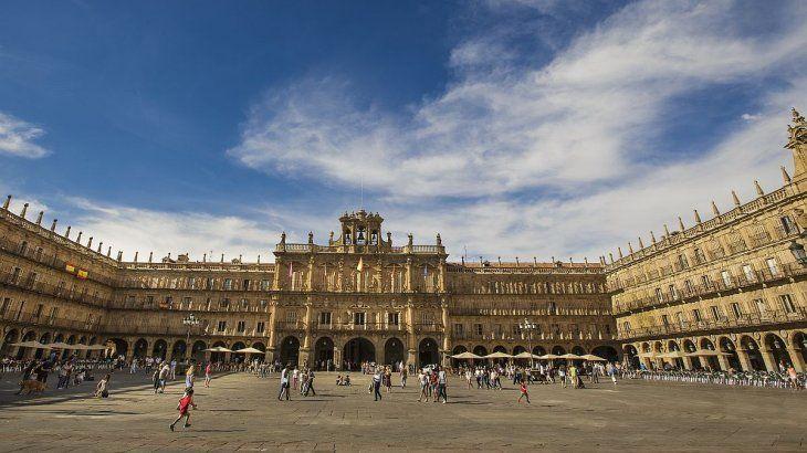 Plaza Mayor en Salamanca