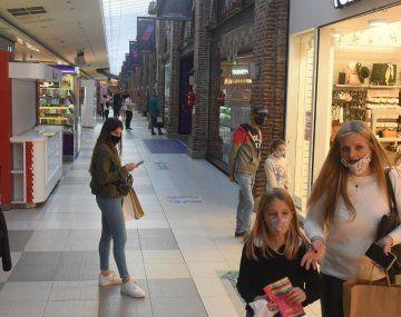 Los shoppings volvieron a abrir sus puertas el pasado 14 de octubre