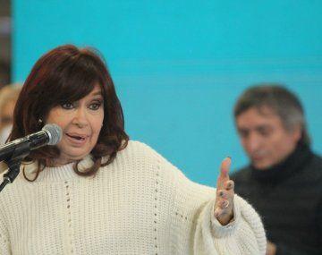 Cristina Kirchner: A los que nos dejaron este muerto
