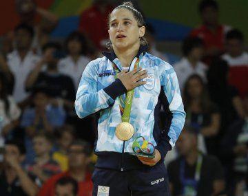 Paula Pareto no pudo competir en Rusia. El judo está cancelado hasta abril por el coronavirus.