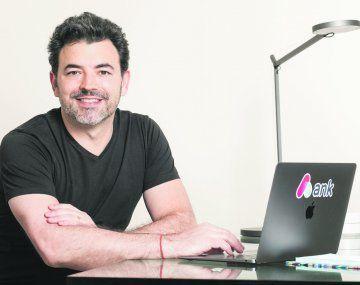 innovación. Leonardo Rubinstein es el CEO de Ank.