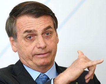 Jair Messias Bolsonaro, presidente de Brasil.