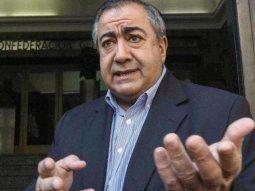 El secretario genaral de la CGT, Héctor Daer.