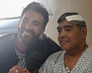 Luque fue el último médico de Maradona.