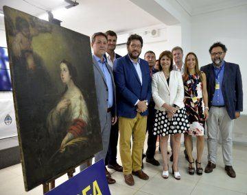 Devuelven a un museo de Rosario una obra del siglo XVII que estaba en manos de narcos