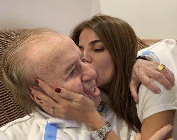 Zulemita Menem decidió ofrecer una recompensa con el objetivo de recuperar el anillo de su padre.