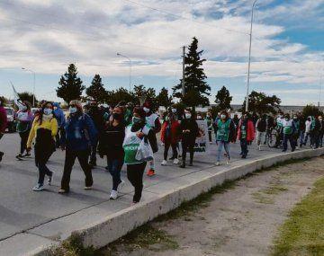 pulseada. El gremio ATE realizó ayer protestas por mejoras salariales al Gobierno, que se sumaron a los cortes de los autoconvocados. Las empresas comenzaron a usar a