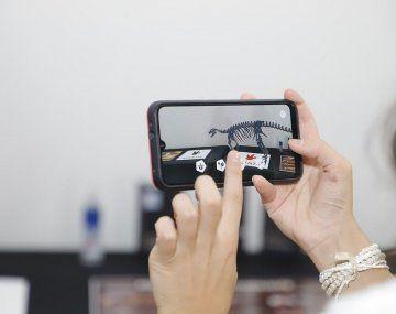 San Juan presentó una aplicación de realidad virtual para interactuar con dinosaurios