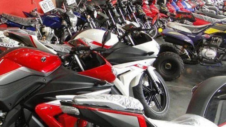 Incluye motos nacionales de hasta $200.000.
