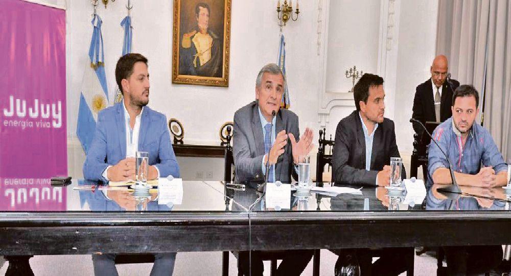 balance. Gerardo Morales junto al titular de Turismo jujeño detallaron los logros alcanzados en la Feria de Turismo realizada en Francia.