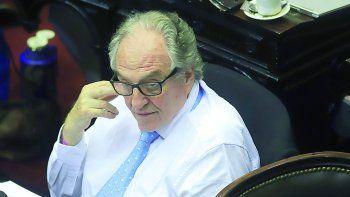 El presidente de la comisión de Presupuesto y Hacienda de la Cámara de Diputados, Carlos Heller.