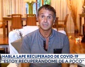 Actualmente,Sergio Lapegüe se encuentra en su domicilio.