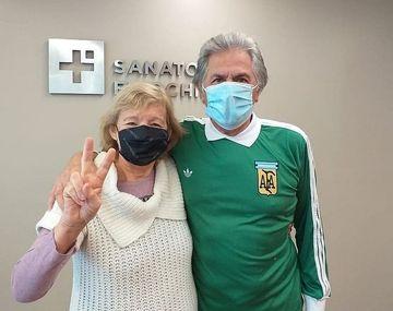 Fillol y su esposa se recuperaron del coronavirus.