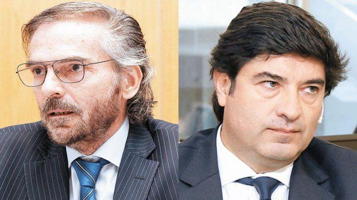 Gustavo Hornos y Alejandro Slokar
