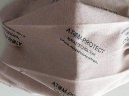 El nuevo barbijo ATOM PROTECT N95 PLUS (FFP2) posee un 97% de capacidad de filtrado.
