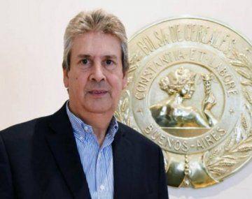 José Martins, presidente de la Bolsa de Cereales.