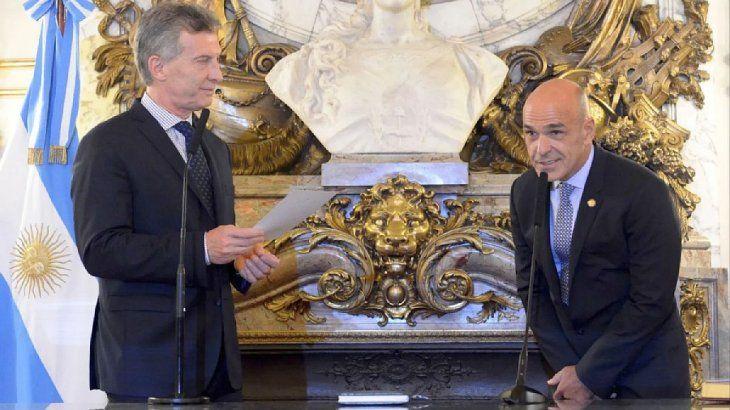Mauricio Macri y el titular de la AFI