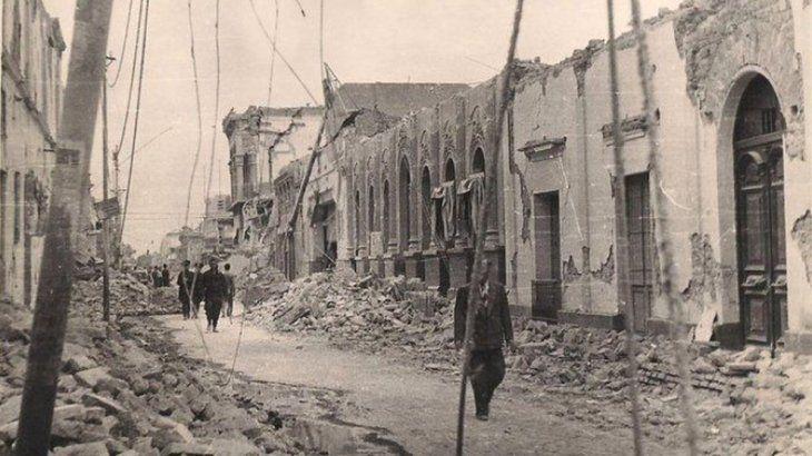 En 1944 el terremoto en San Juan destruyó el 80% de la ciudad