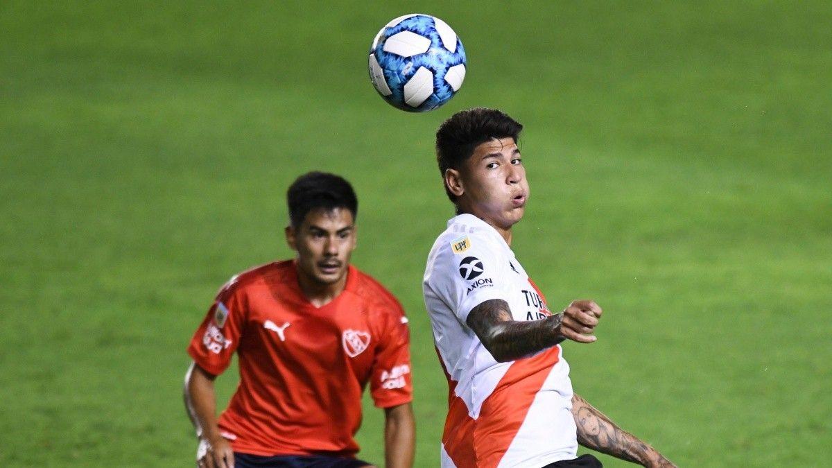 River vs Independiente por la Liga Profesional: hora, TV y formaciones