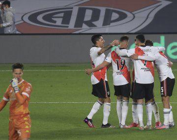 River le gana a Aldosivi en la Liga Profesional.