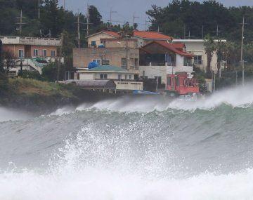 El tifón Haishen fue catalogado de extremadamente fuerte y es el segundo en una semana en registrarse en Japón.