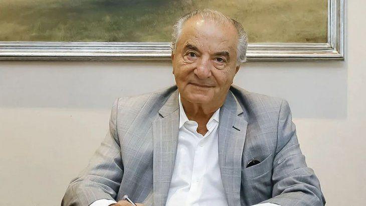 Armando Cavalieri, líder del gremio de empleados de comercio.