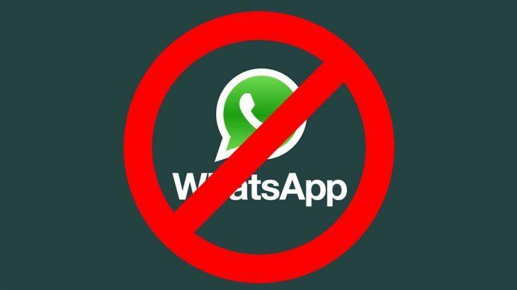 WhatsApp suspenderá tu cuenta si enviás esta famosa foto a tus contactos