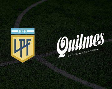 La flamante Liga Profesional de Fútbol, a través de AFA, ya tiene su primer spnsor: Quilmes, que desde hace 30 años está al lado del fútbol argentino.