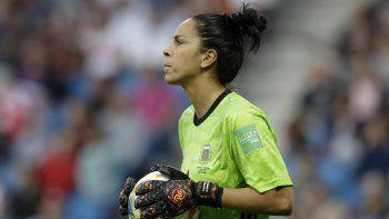 Vanina Correa, arquera de la selección argentina de fútbol femenino