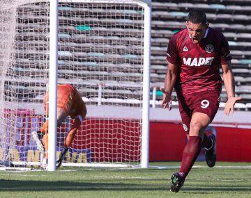 Lanús le ganó a Aldosivi por la Liga Profesional.